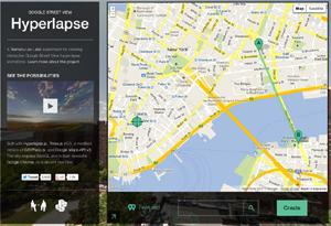 Streetview Hyper-Lapse
