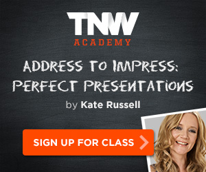 NEWS: Address to impress, perfect presentations class