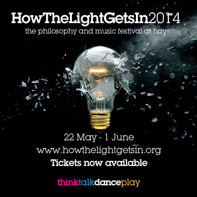 NEWS: Kate Russell booked for HowTheLightGetsIn festival #HTLGI14