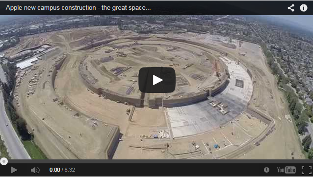NEWS: Apple's new campus construction