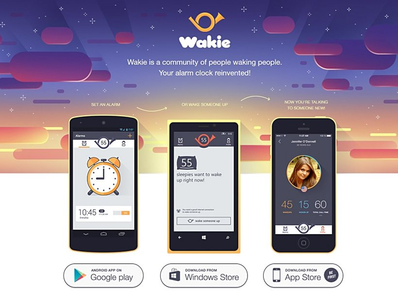 LIFE HACK: wake-up calls with Wakie app