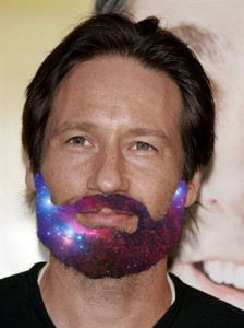 @DavidDuchovny gets a @SpaceBeards
