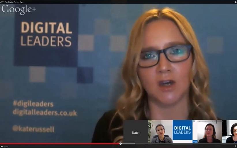 DLTV: This month's Digileaders TV tackled the digital gender gap