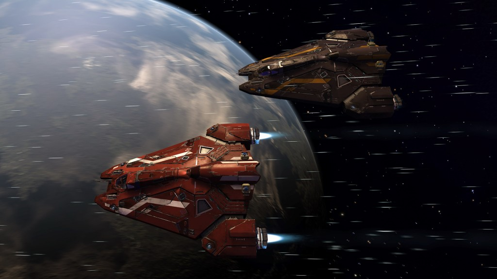 Image Frontier Developments; Viper Flyby