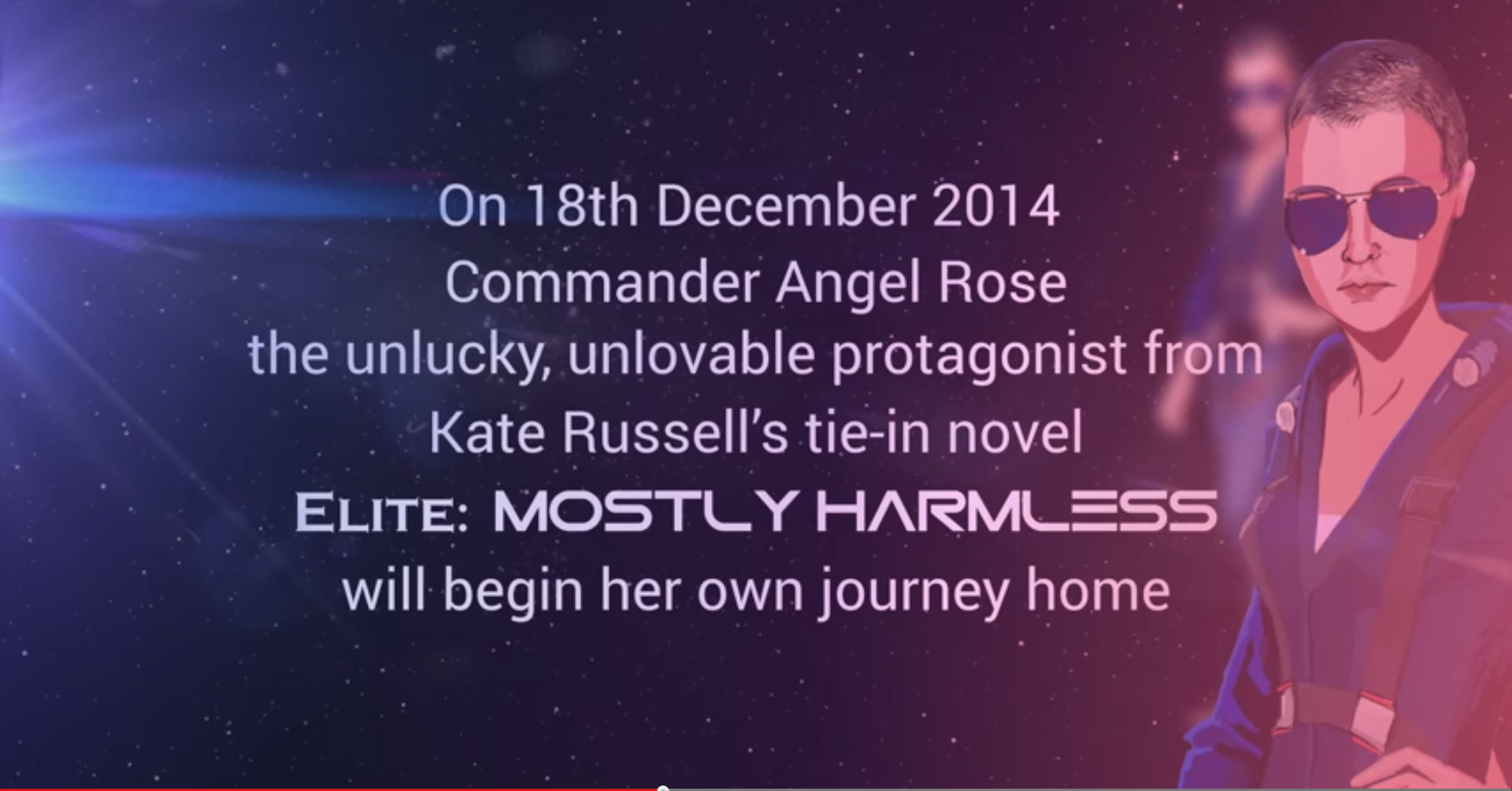 NEWS: Join Angel Rose as she enters #EliteDangerous tonight at 7pm