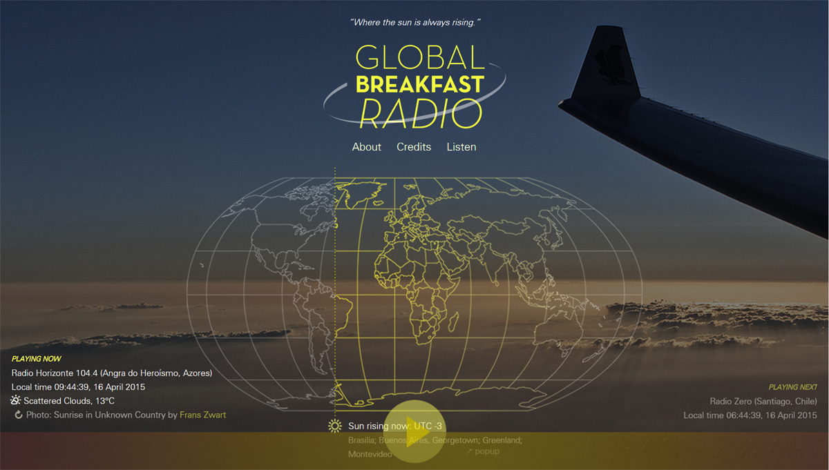Listen to breakfast radio all day from around the world
