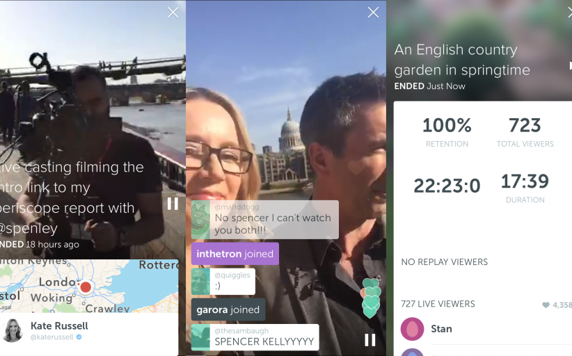ESSENTIALS: In-depth guide to live streaming app Periscope